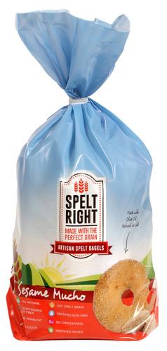 Spelt Right Bagels and Bread.  (PRNewsFoto/Spelt Right Foods)