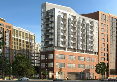 Bozzuto Homes today announced details of 460 New York Avenue, a new 63-unit condominium development located  in the revitalized Mount Vernon Triangle neighborhood of Washington, DC.  (PRNewsFoto/The Bozzuto Group)
