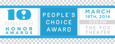 International Interior Design Association of Northern California People's Choice Award. March 19th 2014. (PRNewsFoto/International Interior Design Association of Northern California) (PRNewsFoto/INTL INTR DESIGN ASSOC. N CALI)