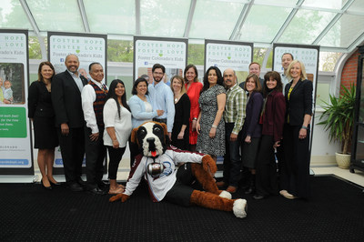 CDHS representatives joined Southern Ute Indian Tribe Chairman and Colorado's First Lady Robin Hickenlooper to recognize foster families in Colorado.