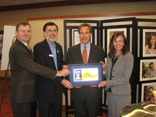 Texas Speaker Straus Says Government Alone Can't Care for Foster Children, Commends CASA Volunteers