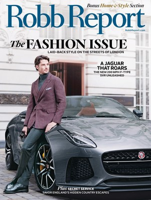 Robb Report Unveils Annual Fashion Issue