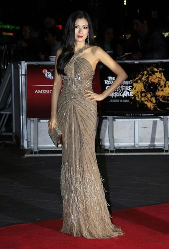 """Rebecca Wang Joins the Stones on the Red Carpet for Premiere of Brett Morgen's """"Crossfire"""