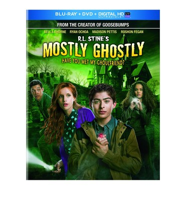 From Universal Studios Home Entertainment: R. L. Stines Mostly Ghostly: Have You Met My Ghoulfriend?