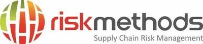 riskmethods Supply Chain Risk Management logo (PRNewsFoto/riskmethods)