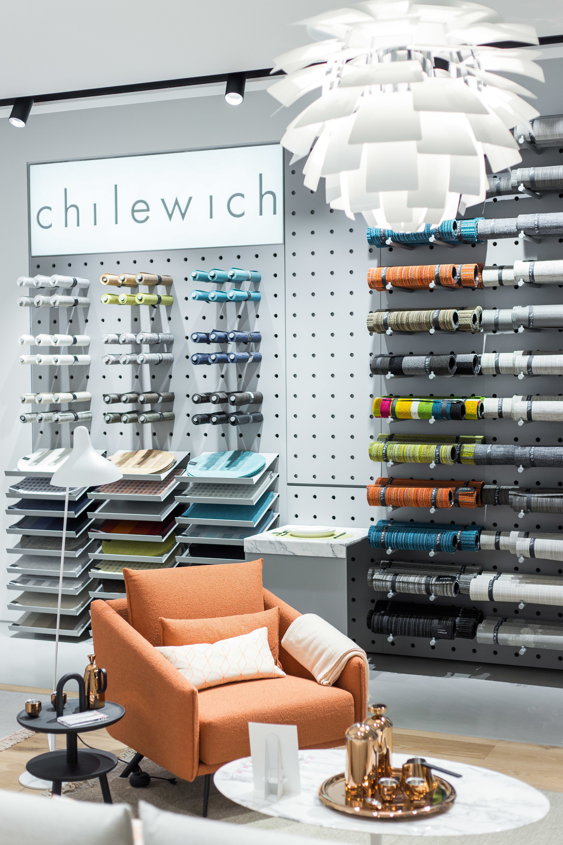 DWR Paramus is home to the company's second Chilewich shop-in-shop. Photo: Alex Kusak Smith