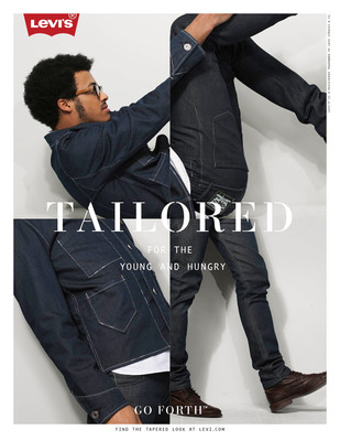 """The Levi's brand debuts its 2012 'Go Forth' global marketing campaign. """"This is a Pair of Levi's"""" celebrates the refined and tailored look of the fall/winter 2012 collection.  (PRNewsFoto/Levi Strauss & Co.)"""