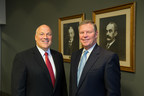 (L) John Morikis, President & CEO; (R) Chris Connor, Executive Chairman; The Sherwin-Williams Company; Background: Company Co-founders, (L) Henry Sherwin; (R) Edward Williams
