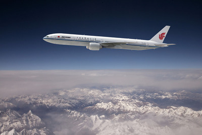 Air China Upgrades its Airliner on China-Germany Service to B777-300ER.  (PRNewsFoto/Air China)