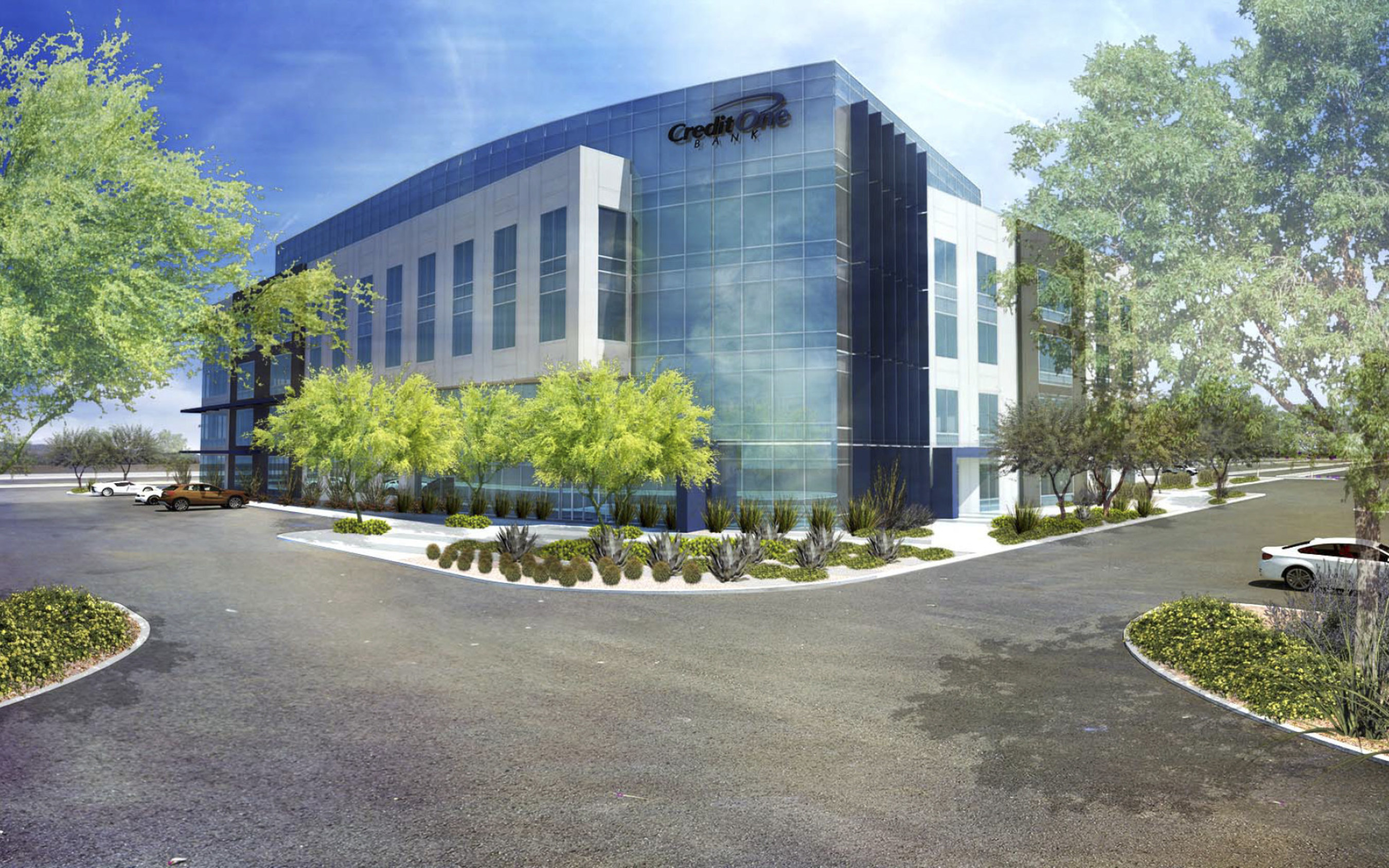 Credit One Bank will break ground on its new headquarters in Las Vegas, creating 500 new jobs in the near future.