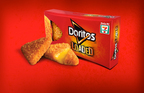 New Doritos Loaded is now available exclusively at participating 7-Eleven stores. The never-been-done before product is a multi-sensorial, satisfying Doritos snack loaded with warm melted cheese and encrusted with bold Doritos Nacho Cheese flavor.  Also available only at 7-Eleven stores is the new Mtn Dew Solar Flare drink on 7-Eleven's Big Gulp machines. (PRNewsFoto/7-Eleven, Inc.)