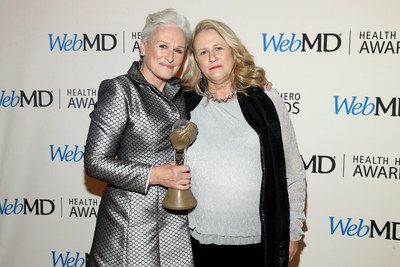 WebMD Health Hero People's Choice Award Winner Glenn Close and Jessie Close Attend the WebMD Health Hero Awards Gala at TimesCenter on November 5, 2015