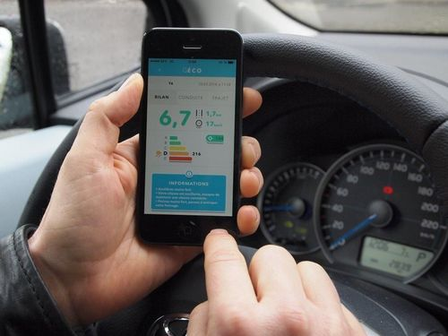 GECO, Eco-driving application developed by IFP Energies Nouvelles (PRNewsFoto/IFP Energies nouvelles)