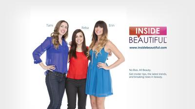 Inside Beautiful Hosts, Tami Farrell, Reba Buhr & Erin Lucas.  (PRNewsFoto/Inside Beautiful, Inc.)