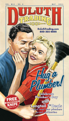 Duluth Trading Contest Flushes Out Top Plumbers in America; Celebrates the Legendary Plumber's