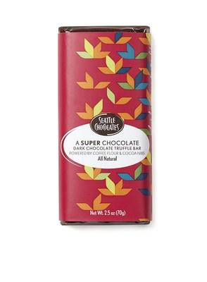 A Super Chocolate Dark Chocolate Truffle Bar Powered by CoffeeFlour & Cocoa Nibs