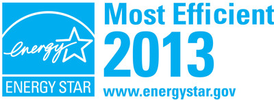 ENERGY STAR Most Efficient.  (PRNewsFoto/LG Electronics USA, Inc.)