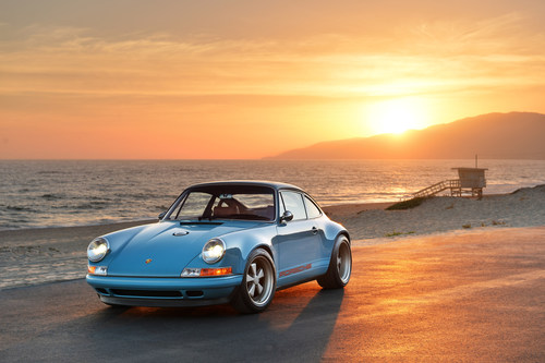 Extreme 911s reimagined by Singer Vehicle Design head to Monterey for Car Week (PRNewsFoto/Singer Vehicle ...