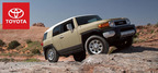 2014 is the last production year for the venerable Toyota FJ Cruiser. To mark the occasion, Toyota will be producing a limited amount of a special edition of the vehicle.  (PRNewsFoto/Toyota of Naperville)