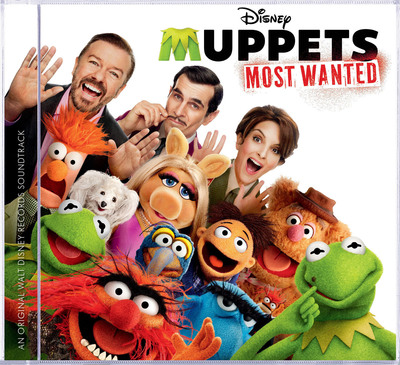 Muppets Most Wanted soundtrack cover. (PRNewsFoto/Walt Disney Records) (PRNewsFoto/WALT DISNEY RECORDS)