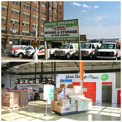 U-Haul Moving and Storage of New Center in Detroit - Now Open for Business! (PRNewsFoto/U-Haul)