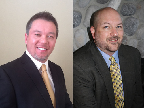 Mimi's Cafe names Stuart Gee as regional director of operations for the central United States region, and Daniel Boyd promoted to senior director of operations services and training.  (PRNewsFoto/Mimi's Cafe)