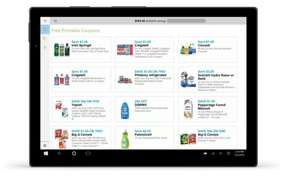 Coupons.com Is Making Savings Even Easier for Windows 10 Users