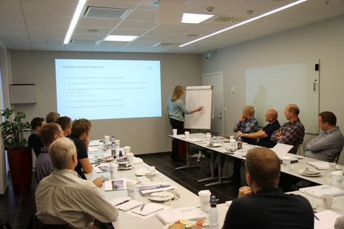 From the case study presentation on wind tunnel testing. (PRNewsFoto/Global Maritime Group)