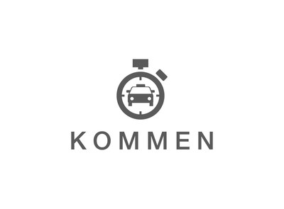 Kommen Logo (Black and White)