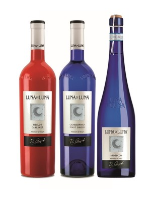 Luna Di Luna Announces Re-Launch of Iconic Italian Wine Collection (PRNewsFoto/Luna Di Luna)