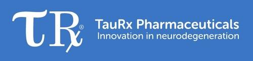 TauRX-Pharmaceuticals Logo (PRNewsFoto/TauRX Therapeutics Ltd)