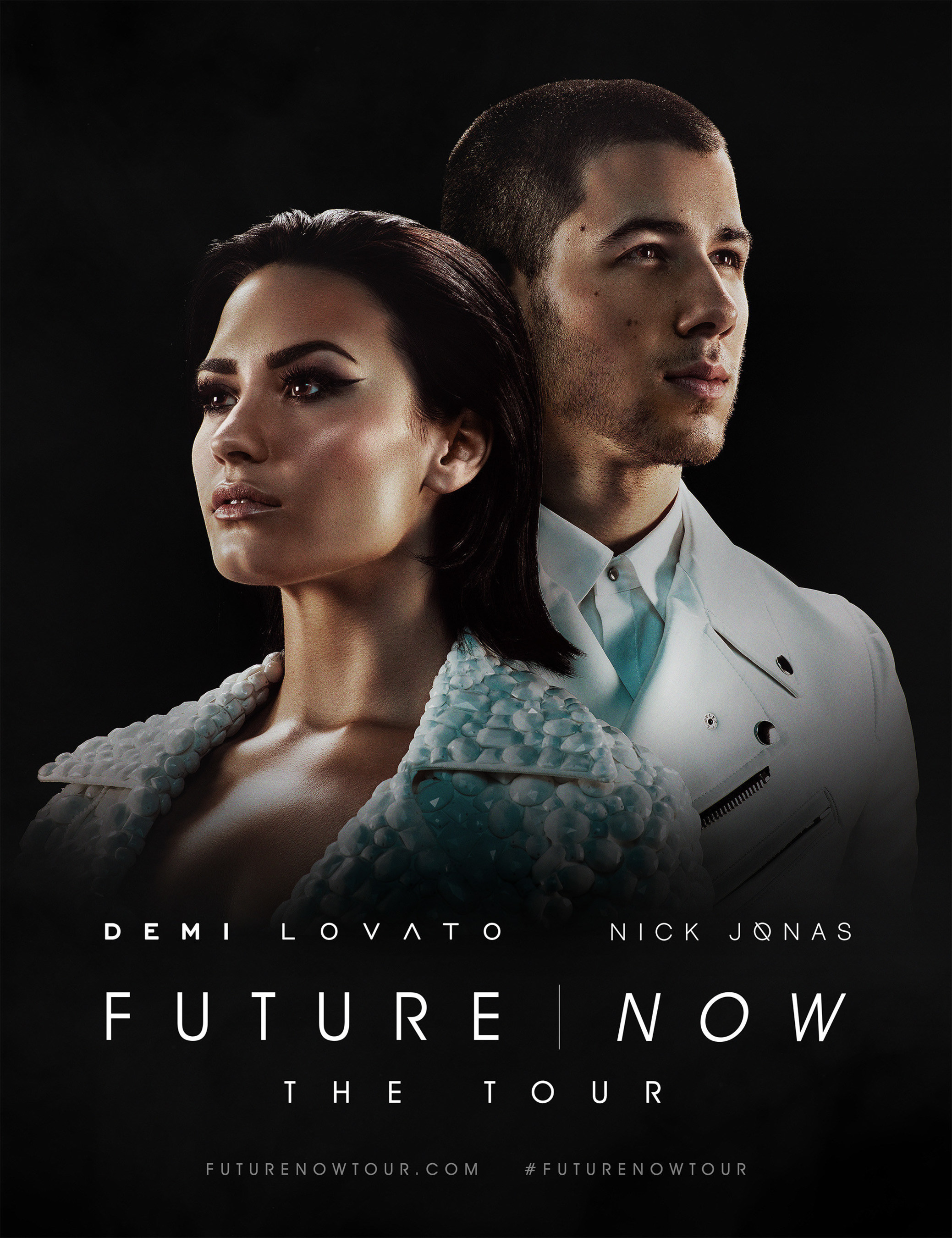 Demi Lovato & Nick Jonas Invite You To Experience 'FUTURE NOW: THE TOUR'