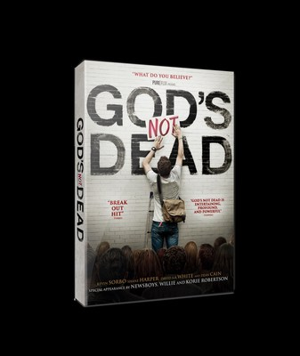 GOD'S NOT DEAD Ranks At Top Of U.S. DVD Sales Charts