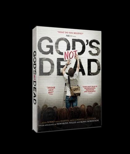 GOD'S NOT DEAD Ranks At Top Of U.S. DVD Sales Charts (PRNewsFoto/Pure Flix)