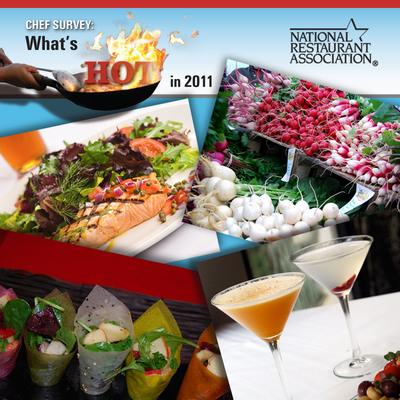 National Restaurant Association reveals the hottest menu trends for 2011.  (PRNewsFoto/National Restaurant Association)