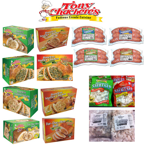 Product Comparison between Tony Chachere's and Big Easy Foods.  (PRNewsFoto/Tony Chachere's Creole Foods)