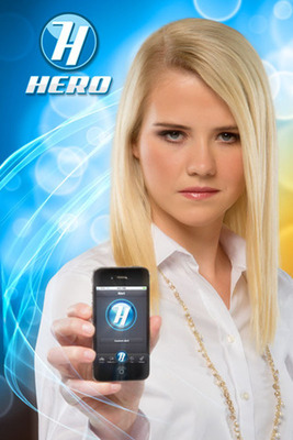 Elizabeth Smart Endorses Hero Mobile App.  (PRNewsFoto/Apptooth)