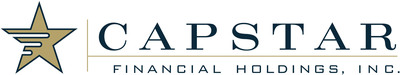 CapStar Financial Holdings, Inc. Logo (PRNewsFoto/CapStar Financial Holdings, Inc.)