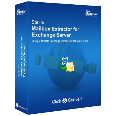 Stellar Mailbox Extractor for Exchange Server (PRNewsFoto/Stellar Data Recovery)