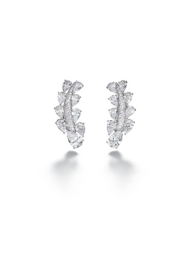High Jewellery earrings - Folies Collection, Biennale des Antiquaires Paris (PRNewsFoto/de Grisogono)