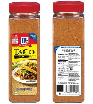 Original Taco Seasoning Mix 24 oz bottle
