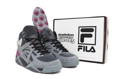 Nickelodeon and Fila Release Limited-Edition Line of Teenage Mutant Ninja Turtles Adult Sneakers. (PRNewsFoto/Nickelodeon) (PRNewsFoto/NICKELODEON)