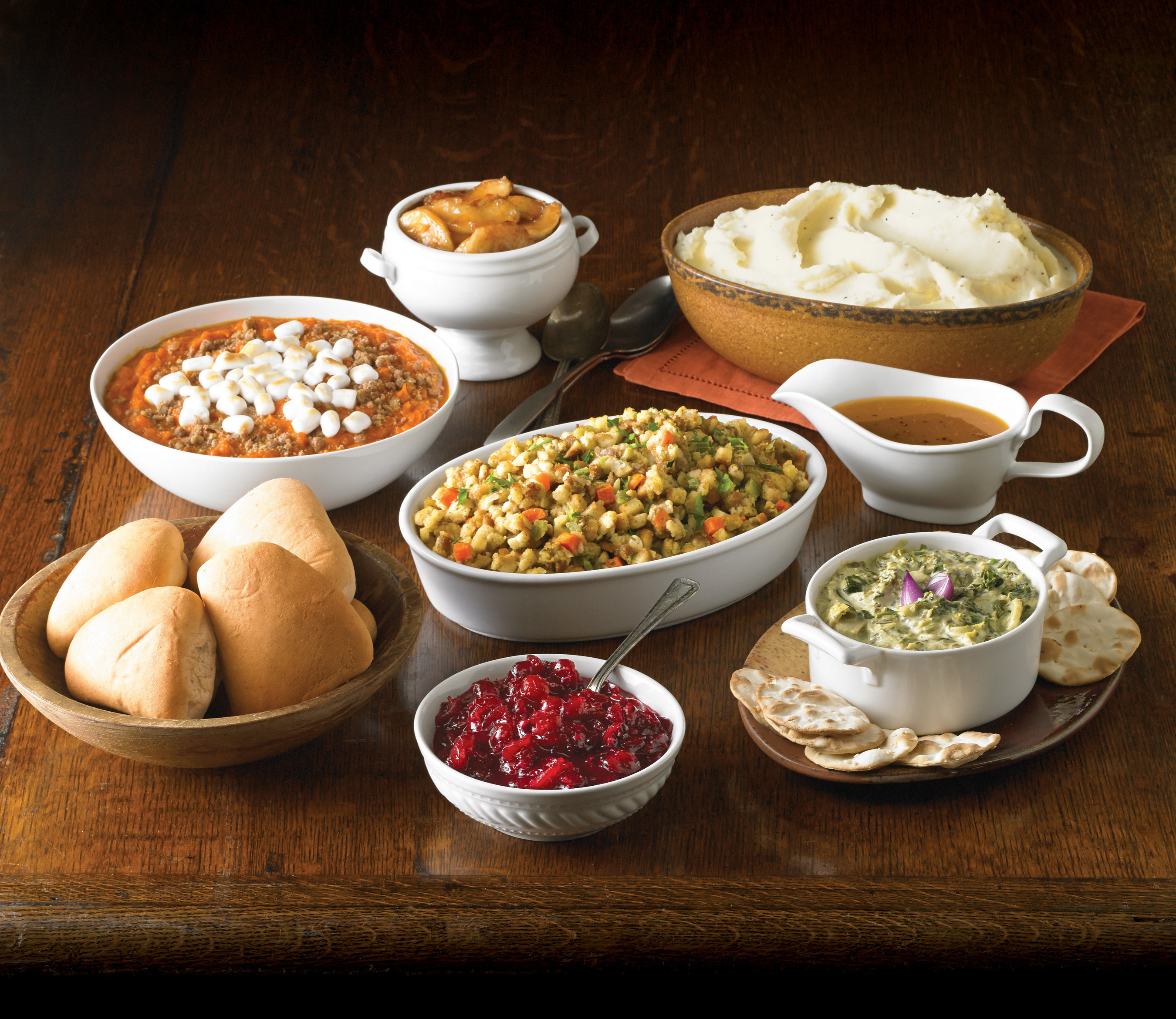 Boston Market has an array of individual sides, entrees, appetizers and desserts available for holiday.