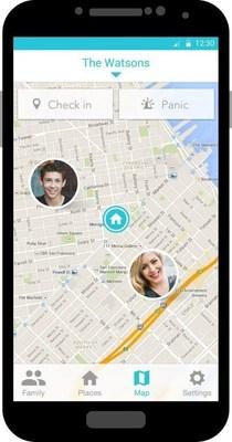 AVG Family Graph permite compartir ubicacion entre los miembros de una familia