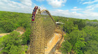 Record-Breaking Wood Coaster Outlaw Run Barrel Rolls into Summer Travel Options