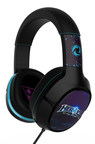 The new Heroes of the Storm(TM)  stereo PC gaming headset features swappable speaker plates with different Blizzard characters, perfect for players eager to personalize their headset.