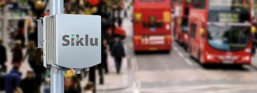 Siklu's fiber-like millimeter-wave network enables reliable, interference-free wireless connectivity for Bradford City, UK Smart City Initiative (PRNewsFoto/Siklu Communications)