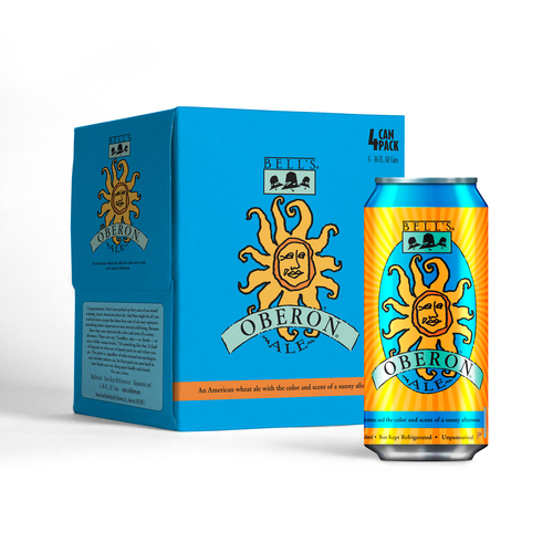 Bell's Brewery beer fans are taking Bell's Oberon Ale, and Two Hearted Ale, with them in cans from Ball  ...