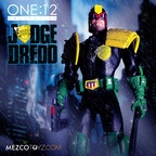 One:12 Collective- Judge Dredd Revealed At Toy Fair