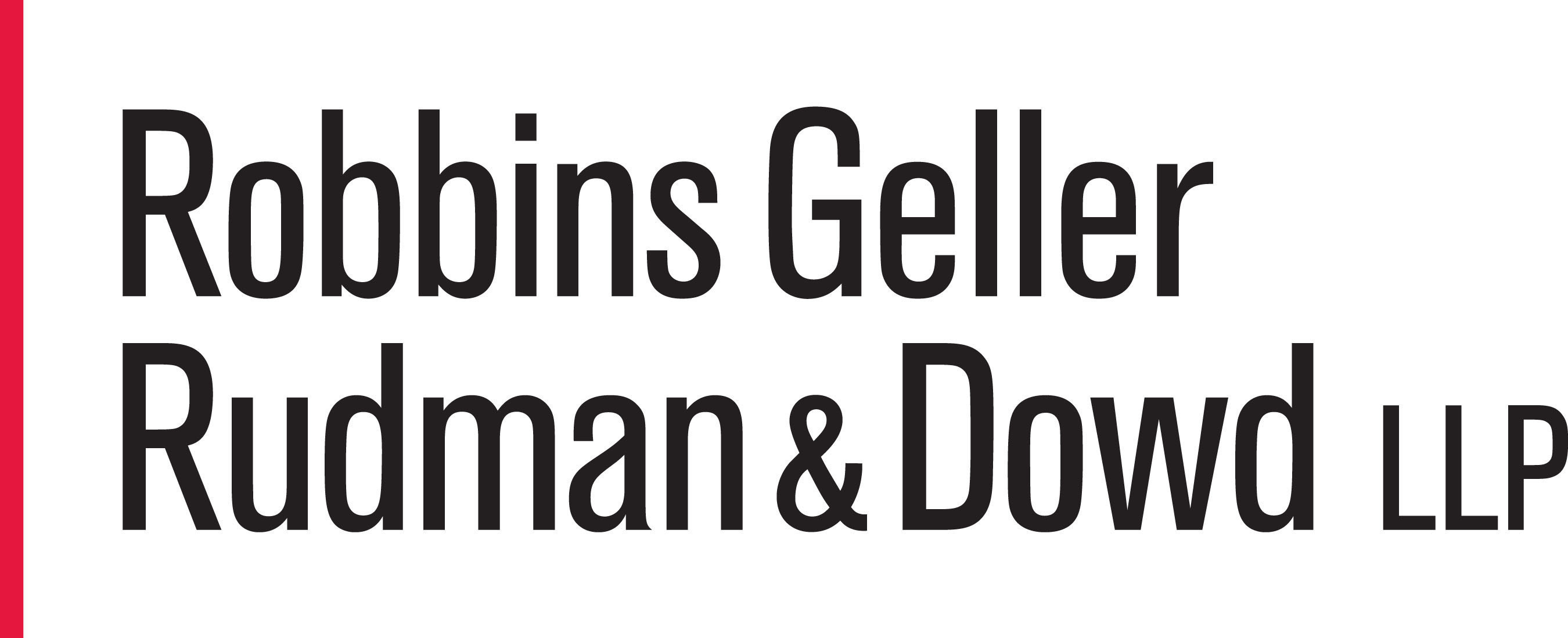 Robbins Geller, with 200 lawyers in ten offices, represents U.S. and international institutional investors in contingency-based securities and corporate litigation. The firm has obtained many of the largest securities class action recoveries in history, including the largest securities class action judgment. Please visit  http://www.rgrdlaw.com for more information. (PRNewsFoto/Robbins Geller Rudman & Dowd LLP)